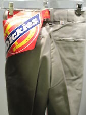 Nos DeadStock Vintage Dickies Retro Casual Gray Work Pants Slacks Trousers 26x32