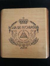 Hoja de Nicaragua Cigar Box Jalapa Valley
