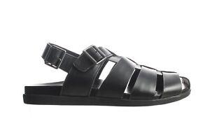 Vionic Mens Ludlow Gil Black Fisherman Sandals Size 11