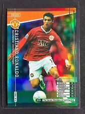 2006-07 Panini WCCF Crack Cristiano Ronaldo Refractor card Manchester United