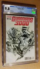 Guardians 3000 #1 1:100 Alex Ross Sketch Variant CGC 9.8 NM+/M