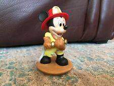 Disney Mickey Fireman #1 figure statue. 4in tall