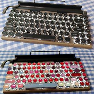 Wireless Bluetooth lipstick steampunk 83 mechanical keyboard retro iPad Light