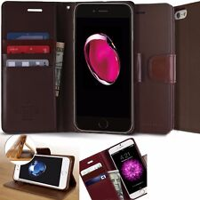 Genuine Goospery Slim Leather wallet Flip Case Cover for iPhone /Galaxy S9/Note9
