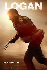 Hugh Jackman Movie Logan Film Poster Decor 18x12 36x24 40x27/""