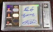 2011 Roy Halladay Nolan Ryan Topps Triple Threads Sepia 23/27 Auto Autograph