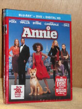 Annie (Blu-ray/DVD, 2015, 2-Disc Set, Includes Digital Copy Ultraviolet) Wallis