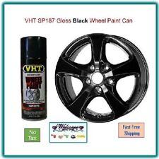 VHT SP187 Gloss Black Wheel Paint Polyurethane Coating 11 oz. Aerosol Spray Can