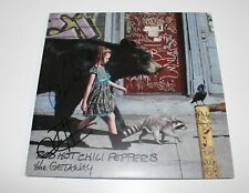RED HOT CHILI PEPPERS CHAD SMITH JOSH BAND SIGNED 'THE GETAWAY' VINYL ALBUM COA