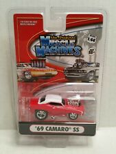 The Original Muscle Machines 69 Chevrolet Camaro SS Red HTF