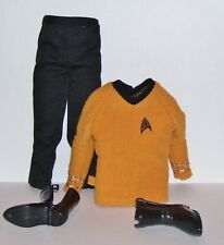 Barbie Mattel Star Trek Ken Doll Clothes Outfit With Snap-On Boots