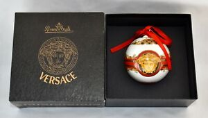 Boxed Rosenthal Versace MEDUSA Christmas Bauble / Hanging Ornament
