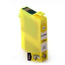 1x Generic 133 T133 Yellow ink cartridge for Epson,NX130 NX230 NX430 WF320 WF435