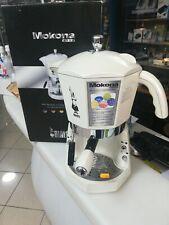 Bialetti Macchina Caffè Espresso Manuale cialde/capsule MOKONA SILVER CF40