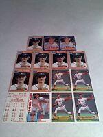 *****Bill Scherrer*****  Lot of 50 cards.....9 DIFFERENT