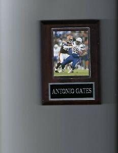 ANTONIO GATES PLAQUE SAN DIEGO CHARGERS FOOTBALL NFL
