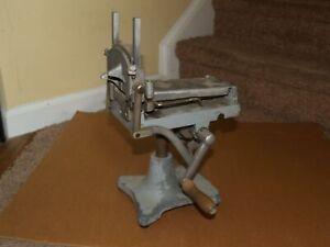 Vintage Strite Anderson King Junior Butter Cutter Slicer Crank Model