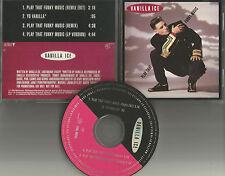 VANILLA ICE Play that Funky Music REMIXES & YO VANILLA Spoken PROMO DJ CD single