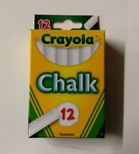 Lot of (36) Crayola White Chalk 12 pack (432 count)