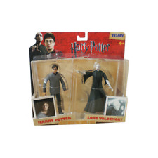 HARRY POTTER & LORD VOLDEMORT DEATHLY HALLOWS ACTION FIGURES COLLECTORS