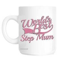 Step Mum World's Best Pink Mother's Day Novelty Gift Mug Shan822