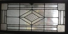 Textured Leaded Glass Window