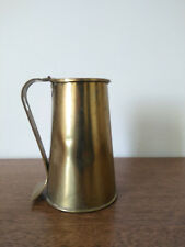 Vintage Howes Mayflower Brass Smudge Pot Can Fireplace Accessory