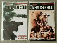 Metal Gear Solid 1 - Regular & Foxhound Variant - IDW - MEXICAN EDITION