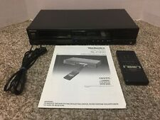 VINTAGE 1986 Technics CD Player SL-P310 w/ Remote & Instructions TESTED WORKS