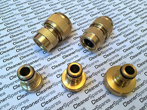 """Heavy Duty Brass Hose """"Garden Hose"""" Fittings (Pressure Washer, """"Hozelock Type"""")"""