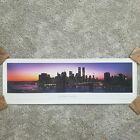 Panorama poster New York City skyline Series 3 James Blakeway Worldwide WTC 1995