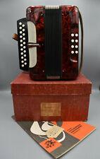 Weltmeister Knopfakkordeon Ziehharmonika Harmonika für Kinder Wiener Modell RAR