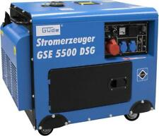 Güde Stromerzeuger GSE 5500 DSG 7,3 kW Stromgenerator Notstromaggregat Diesel