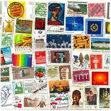 10 STAPS FROM GERMANY. MIXED PHILATELY, USED POSTAGE STAMPS OFF PAPER
