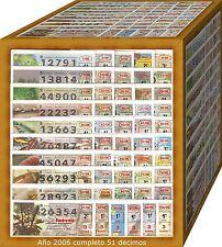 AÑO 2006 COMPLETO LOTERIA NACIONAL DEL JUEVES