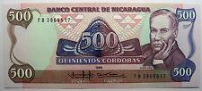 - Très beau billet - NICARAGUA - 500 Cordobas - 1985 - Neuf -