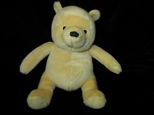 """Winnie the Pooh Fisher Price 2005 Soft Toy Plush 8"""" Lovey Stuffed"""