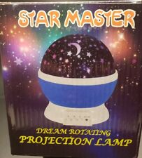 Star Master Dream Rotating Projection Lamp - Batter or Usb powered (New)