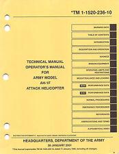 AH-1F Cobra Helicopter Operator's Manual Flight Manual    (CD version)