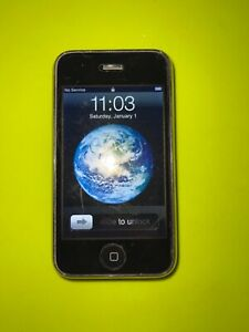 Black Apple iPhone 3GS GSM Unlocked 8GB model A1241 Tested and works