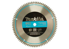 Makita 10 in 5/8 inch 80 Teeth Miter Saw Blade Cutting Tool Circular Disk Wheel