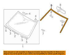 SUZUKI OEM 06-13 Grand Vitara Windshield-Reveal Molding 8461165J00