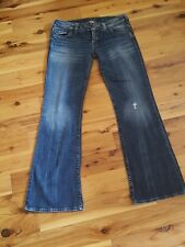 """Silver Jeans """"Tuesday"""" with slight distressed look - Excellent Condition 31/33"""