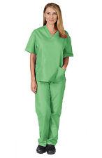 Medical Scrub Unisex Men Women Natural Uniforms Hospital Nursing set Top & Pants