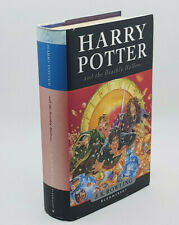 Harry Potter And The Deathly Hallows J.K. Rowling,1st Edition Hardback 2007