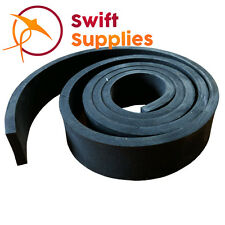 """Neoprene Rubber Sealing Strip - 1.5mm (1/16"""") Thick x 25mm Wide x 10 Metres"""