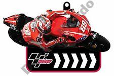 MotoGP 69 Nicky Hayden Ducati Corse Team Rubber Key Ring Fob car bike house gift