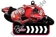 MotoGP 69 Nicky Hayden Ducati Corse Equipo De Goma Llavero FOB Auto Moto Casa Regalo