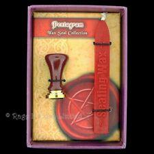 Pentagram Red Wax Letter Envelope Seal Kit