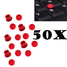 50X Red TrackPoint Caps Mouse Pointer Soft Rim for IBM Lenovo Thinkpad T410 R400
